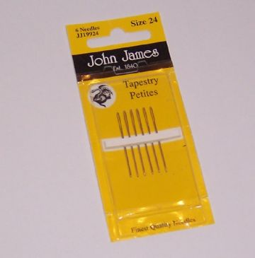 John James Tapestry Petites size 24 Nickel Plated